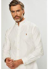 Polo Ralph Lauren - Koszula. Typ kołnierza: polo. Kolor: biały
