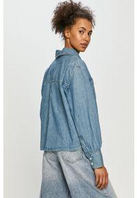 Levi's® - Levi's - Koszula jeansowa. Okazja: na co dzień, na spotkanie biznesowe. Kolor: niebieski. Materiał: jeans. Długość rękawa: długi rękaw. Długość: długie. Wzór: gładki. Styl: biznesowy, casual