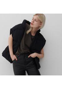Reserved - T-shirt basic z bawełny organicznej - Szary. Kolor: szary. Materiał: bawełna