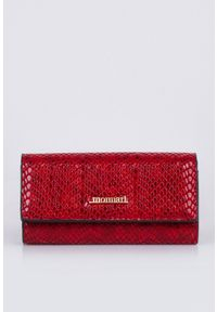 Czerwony portfel Monnari