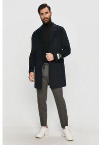 Czarny sweter Hugo z golfem, casualowy, długi #3