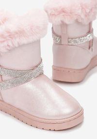Born2be - Różowe Śniegowce Rhelysh. Kolor: różowy