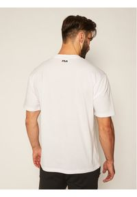 Fila T-Shirt Saku 687475 Biały Regular Fit. Kolor: biały