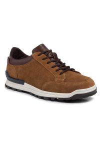 Brązowe sneakersy Digel