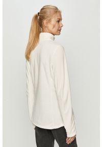 Biała bluza na co dzień, casualowa