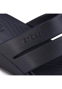 Crocs Klapki Monterey Wedge W 206304 Czarny. Kolor: czarny
