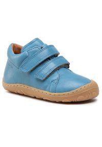 Froddo - Trzewiki FRODDO - G2130225 S Jeans. Kolor: niebieski. Materiał: skóra. Szerokość cholewki: normalna. Sezon: zima, jesień