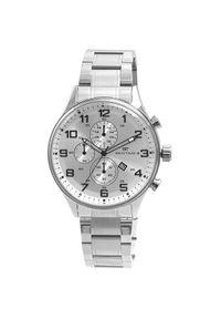 Biały zegarek Bentime elegancki