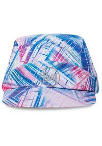 Buff - Czapka z daszkiem BUFF - Pack Run Cap 122578.555.10.00 R-Wira Multi. Kolor: wielokolorowy, różowy, niebieski. Materiał: materiał, poliester, elastan