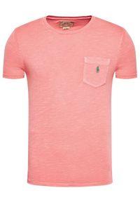 Różowy t-shirt Polo Ralph Lauren polo