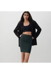 Brązowa spódnica Reserved elegancka