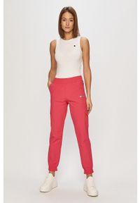 Różowe spodnie dresowe Champion