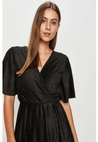 Czarna sukienka Vila z krótkim rękawem, na co dzień #5