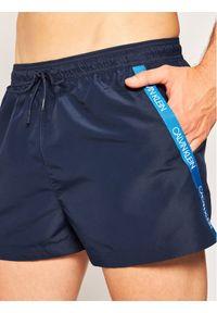 Niebieskie szorty Calvin Klein Swimwear