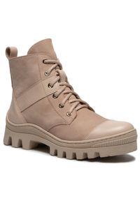 Beżowe buty trekkingowe R.Polański