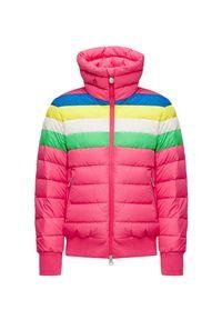 Różowa kurtka narciarska Perfect Moment krótka