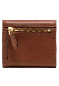 Brązowy portfel Lauren Ralph Lauren