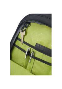 Czarny plecak na laptopa AMERICAN TOURISTER w kolorowe wzory, młodzieżowy