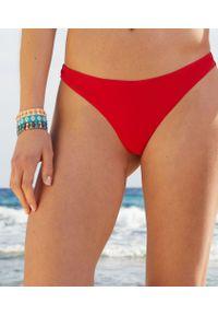 Liliah Majtki Bikini Brazylijskie Od Kostiumu Kąpielowego - 42 - Czerwony - Etam. Kolor: czerwony. Materiał: tkanina