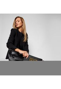 Versace Jeans Couture Torebka E1VWABLX Czarny. Kolor: czarny