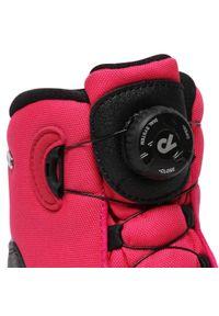 Reima - Śniegowce REIMA - Orm 569434 4650. Okazja: na spacer. Kolor: różowy. Materiał: skóra, materiał. Szerokość cholewki: normalna. Sezon: zima #2