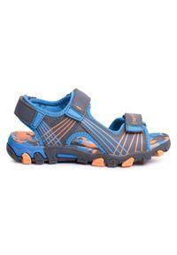 Szare sandały Superfit klasyczne, na lato