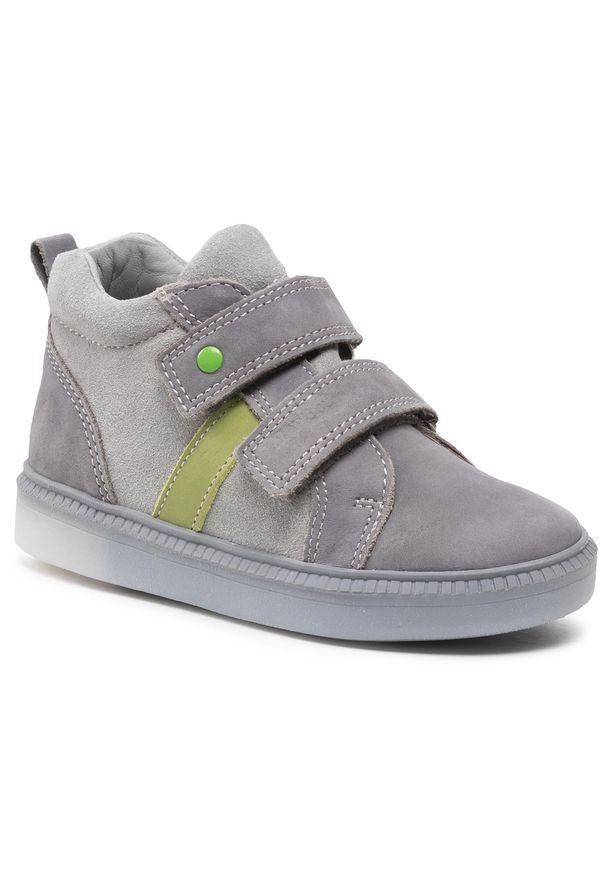 RenBut - Trzewiki RENBUT - 23-3356 Grey Green/Popiel Zielony. Kolor: szary. Materiał: skóra, nubuk, zamsz. Szerokość cholewki: normalna. Sezon: zima, jesień
