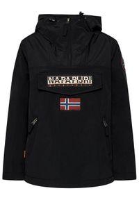 Czarna kurtka przejściowa Napapijri