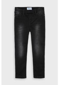 Czarne jeansy Mayoral