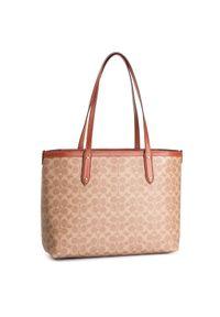 Brązowa torebka klasyczna Coach klasyczna