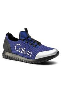 Calvin Klein Jeans Sneakersy Ron S0506 Granatowy. Kolor: niebieski