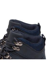 Niebieskie buty zimowe Elbrus na spacer