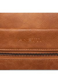 Brązowa torba na laptopa Lanetti