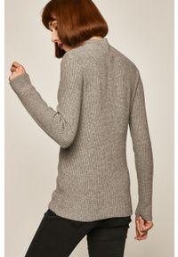 Szary sweter medicine na co dzień, casualowy