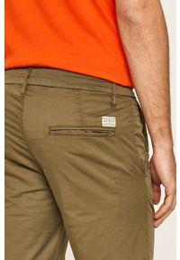 Oliwkowe szorty Guess Jeans casualowe, na co dzień
