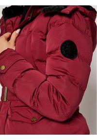 Pepe Jeans Kurtka puchowa Almah PL401848 Czerwony Regular Fit. Kolor: czerwony. Materiał: puch