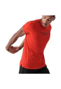 4f - Koszulka męska do biegania 4F H4Z21-TSMF013. Materiał: dzianina, materiał, elastan, włókno, poliester. Sport: fitness