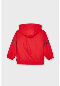 Czerwona kurtka Mayoral gładkie, casualowa