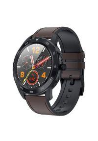 Brązowy zegarek GARETT smartwatch