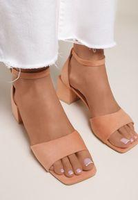 Pomarańczowe sandały Renee