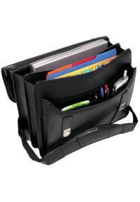 Torba na laptopa MCKLEIN Halsted 15.6 cali Czarny. Kolor: czarny. Styl: elegancki #4