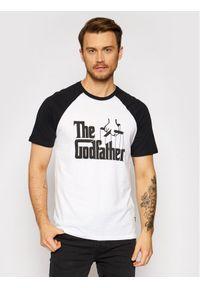 Only & Sons - ONLY & SONS T-Shirt Godfather 22020213 Biały Regular Fit. Kolor: biały