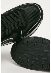 Czarne buty sportowe Pepe Jeans z okrągłym noskiem, na sznurówki