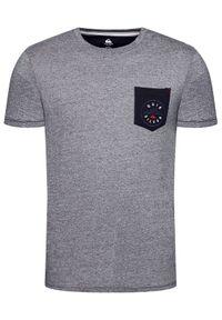 Szary t-shirt Quiksilver