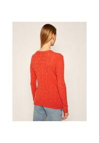 Pomarańczowy sweter Polo Ralph Lauren polo
