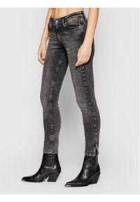 Calvin Klein Jeans Jeansy J20J215402 Szary Skinny Fit. Kolor: szary