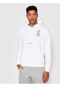 New Balance Bluza Essentials Field Day MT11514 Biały Relaxed Fit. Kolor: biały