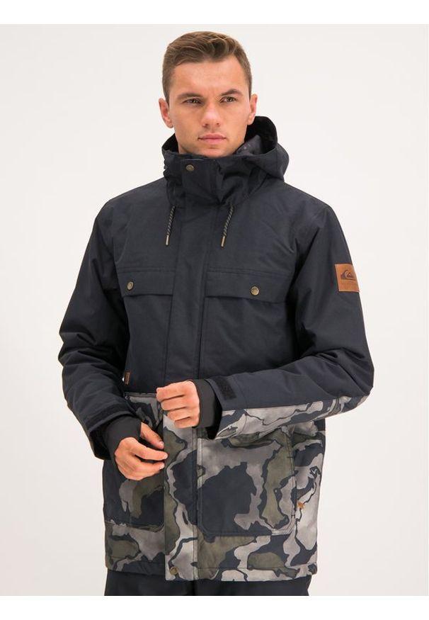 Quiksilver Kurtka snowboardowa EQYTJ03225 Kolorowy Regular Fit. Wzór: kolorowy. Sport: snowboard