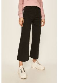 Czarne jeansy bootcut Haily's