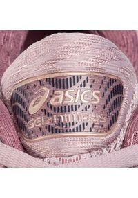 Różowe buty do biegania Asics z cholewką